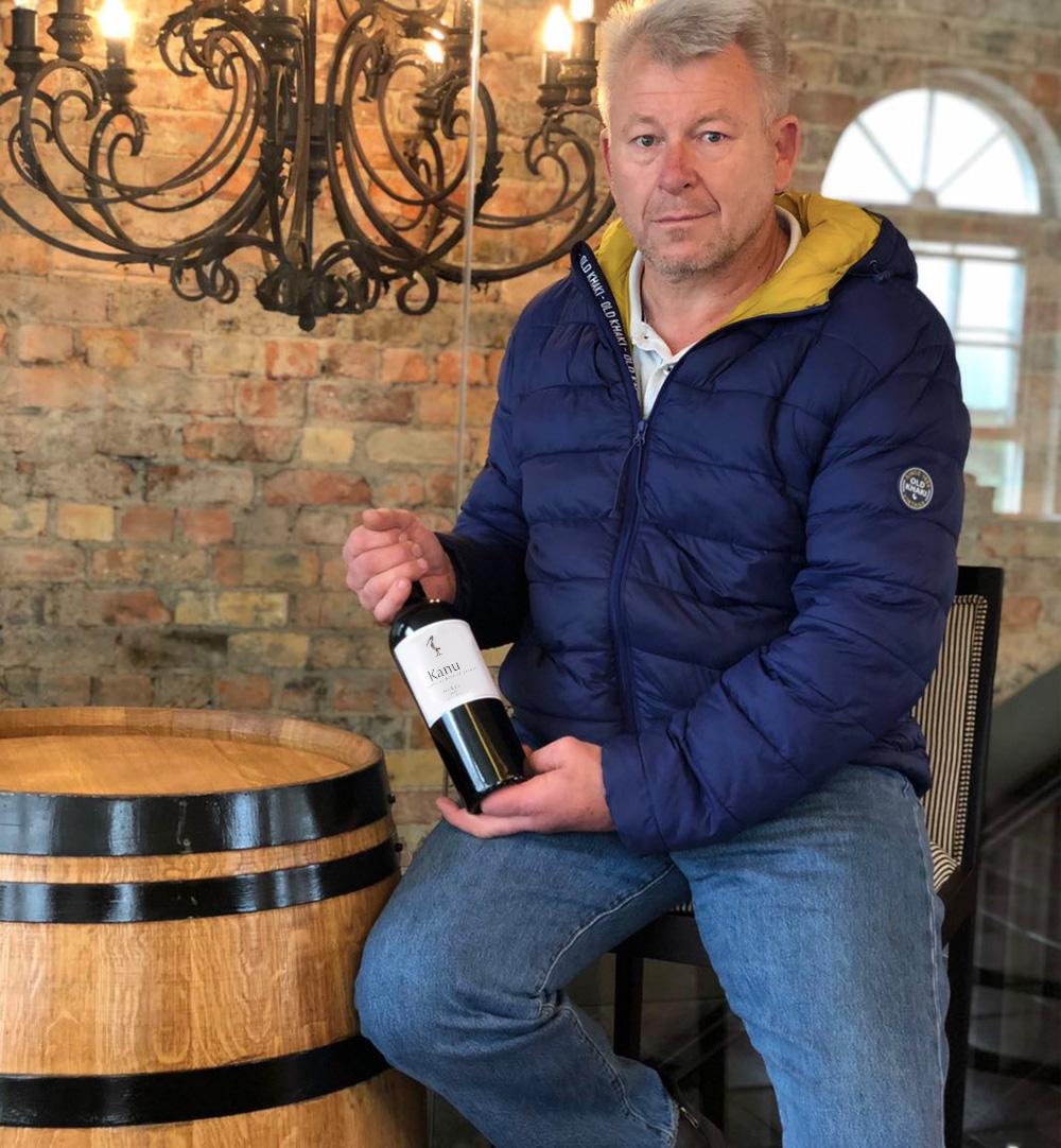 Johan Grimbeek Kanu Wines Winemaker
